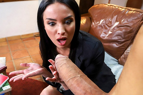 Anissa kate takes huge cock up